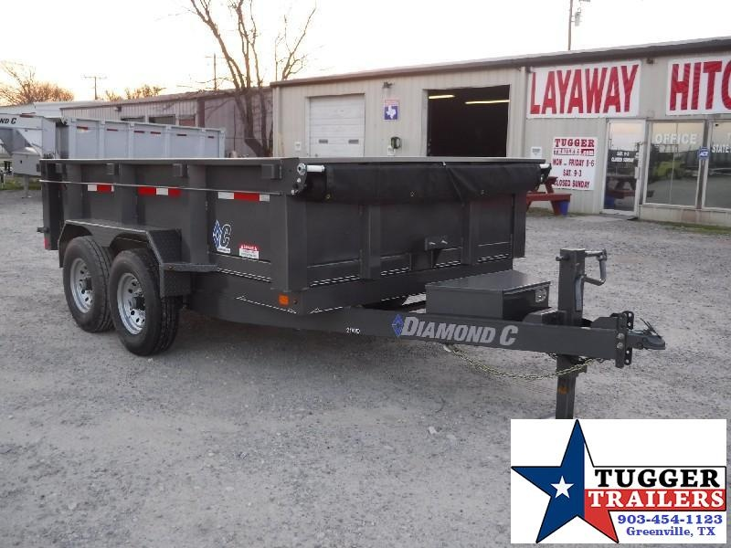 2018 Diamond C Trailers 82 x 12 21WD Dump Dump Trailer