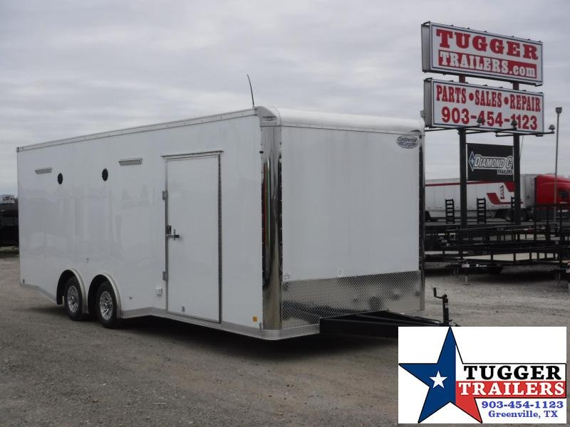 2018 Cargo Mate 8.5 x 24 NS Car / Racing Trailer