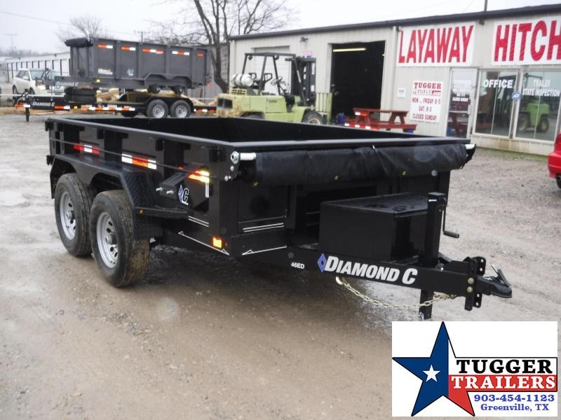 2018 Diamond C Trailers 77 x 10 46ED Dump Trailer