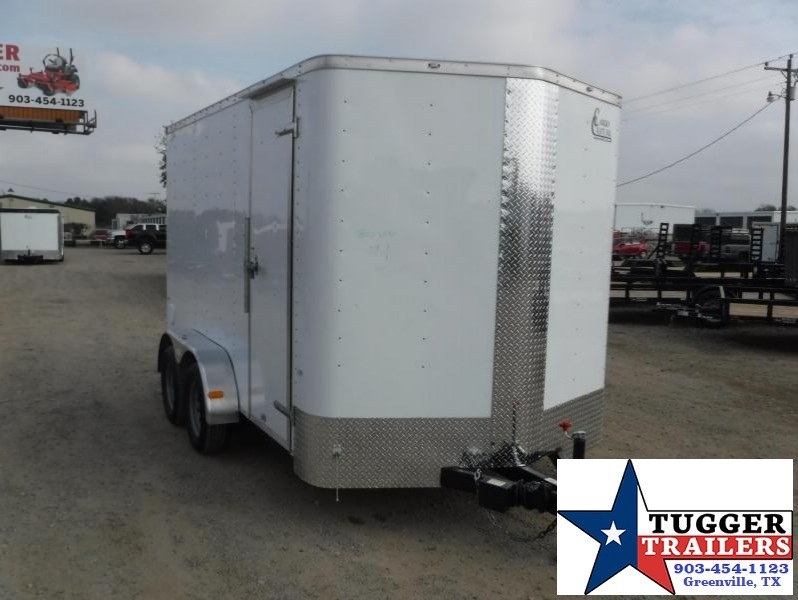 2017 Cargo Craft 7 x 12 Elite-V TA Enclosed Cargo Trailer