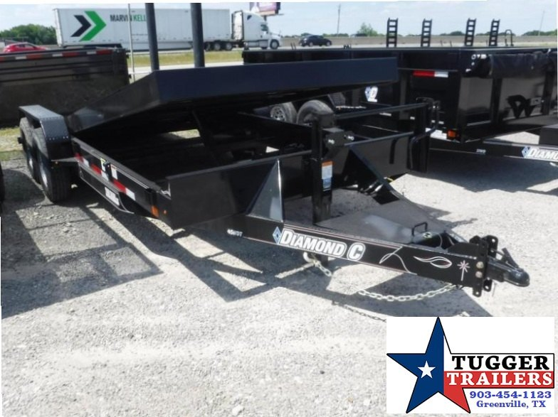 2017 Diamond C Trailers 82x20 45HDT Tilt Equipment Trailer
