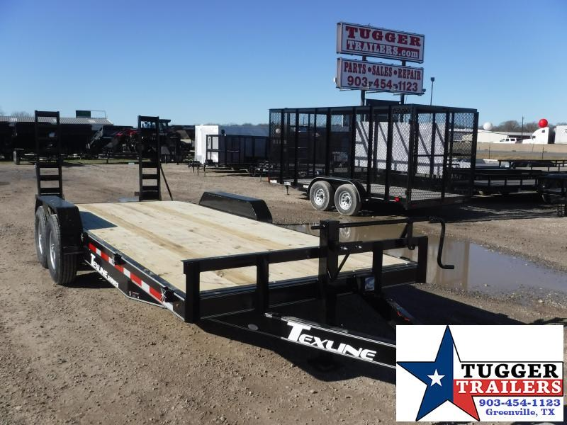 2019 TexLine Bobcat 83x20 Equipment Trailer