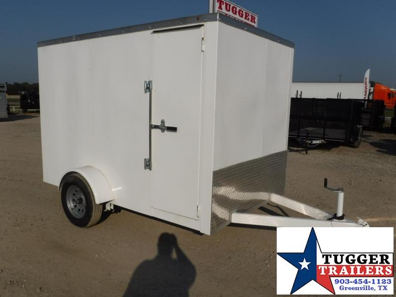 2017 Salvation Trailers 6x10 Steel Enclosed Cargo Trailer