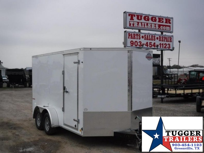 2017 Cargo Mate 7 x 14 E- Series Enclosed Cargo Trailer