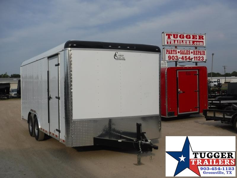 2019 Cargo Craft 8.5x20 20ft Expedition Ramp Enclosed Cargo Trailer