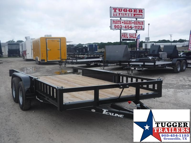 2019 TexLine 83x14 14ft Flatbed Utility Trailer