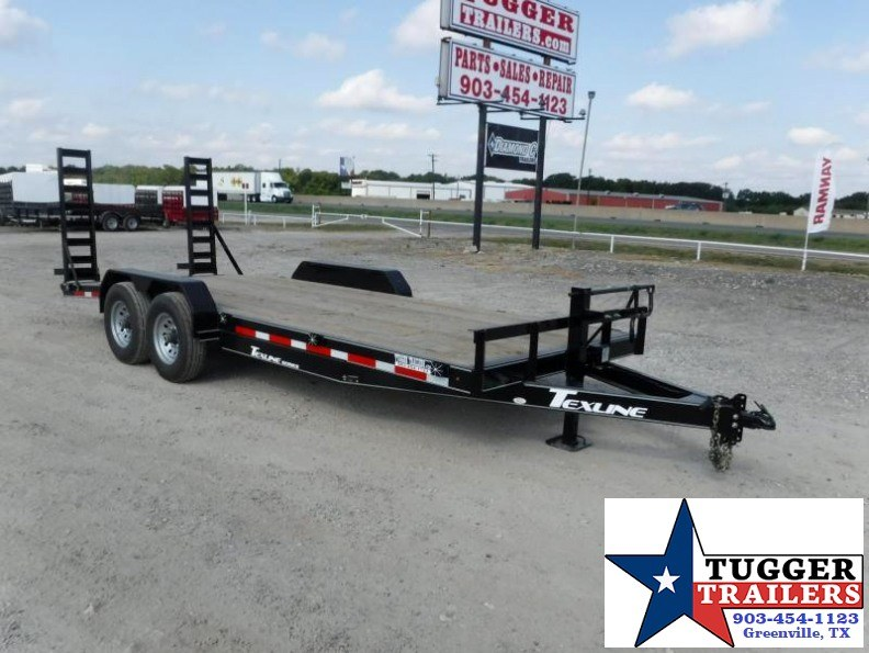 2017 TexLine 83x20 HD Bobcat Equipment Trailer