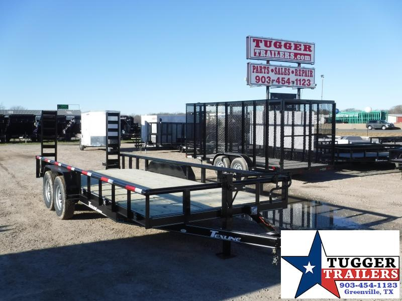 2018 TexLine 83x20 Bobcat Equipment Trailer