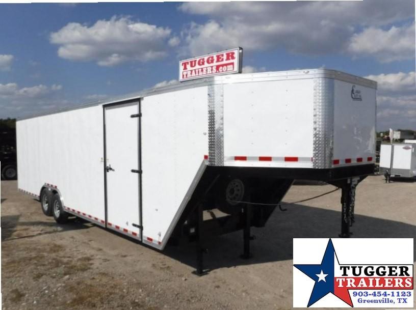 2017 Cargo Craft 8.5 x 36 Gooseneck Enclosed Cargo Trailer