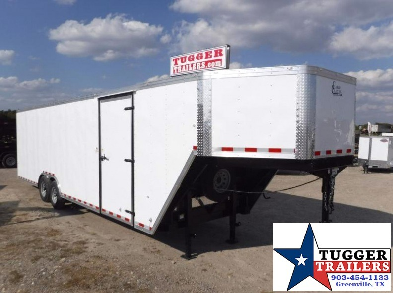 2017 Cargo Craft 8.5 x 36 Gooseneck Enclosed Cargo Trailer
