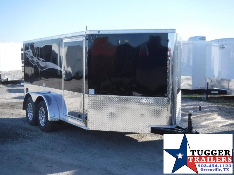 2017 Cargo Mate 7 x 12 Blazer Motorcycle Hauler Enclosed Cargo Trailer
