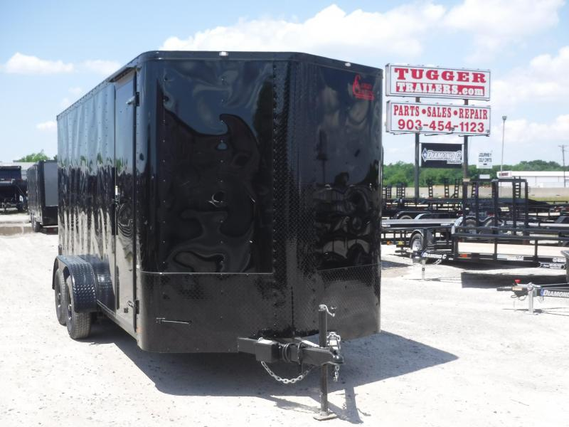 2019 Cargo Craft 7x16 16ft Blackout Ramp Enclosed Cargo Trailer