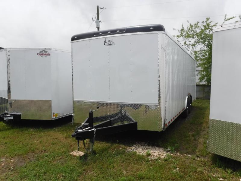 2019 Cargo Craft 8.5X24 24FT Expedition White Ramp Enclosed Cargo Trailer
