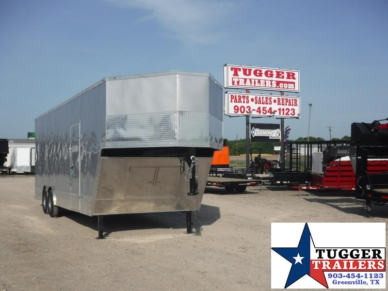 2019 T-Series 8.5 x 32 Goose Neck Car / Racing Trailer