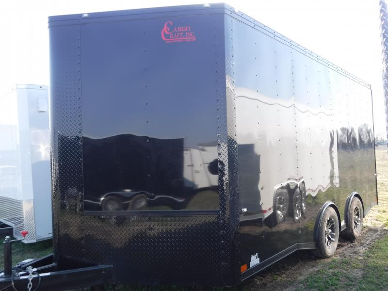 2019 Cargo Craft 8.5x19 19ft Auto Mobile Hauler Car Trailer