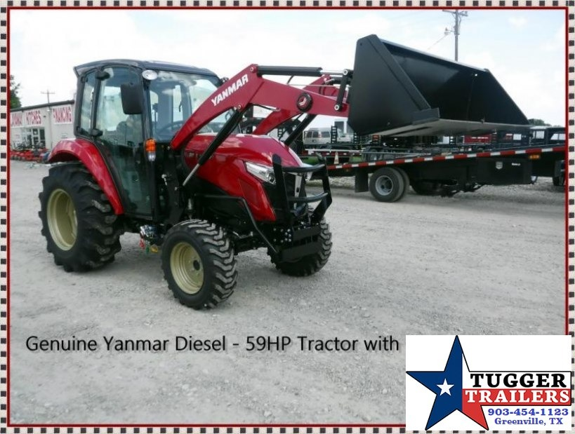 2017 Yanmar USA 59hp YT359 TL Loader Tractor $546/month WAC