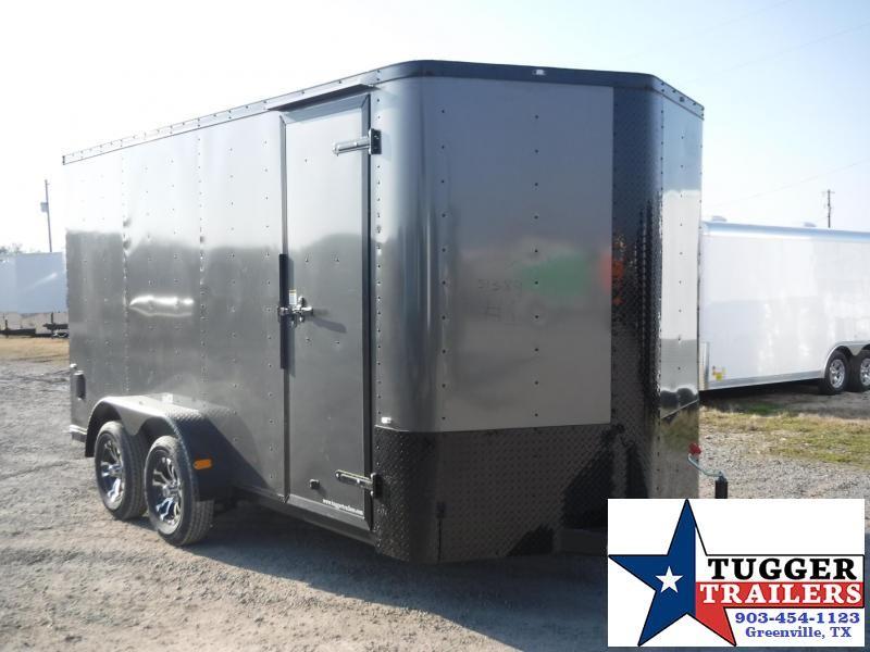2017 Cargo Craft 7 x 14 Elite-V TA Enclosed Cargo Trailer