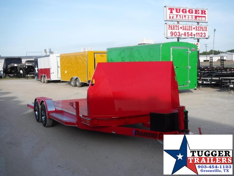 2020 Diamond C Trailers 83x20 20ft CHS Auto Mobile Steel Car / Racing Trailer
