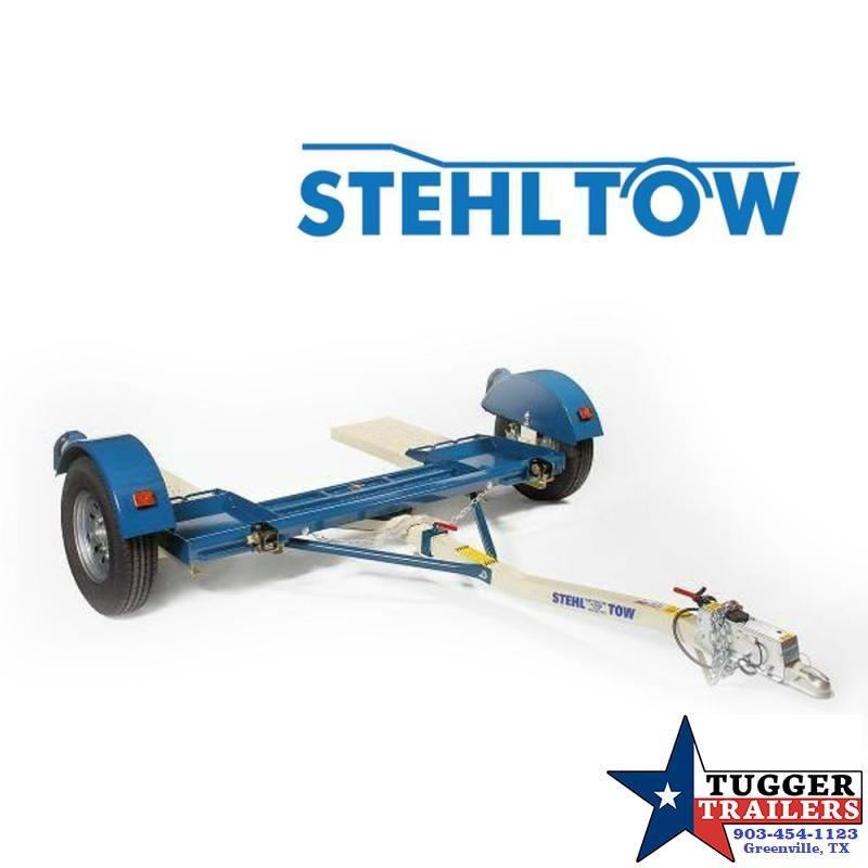 2019 Stehl Tow ST80TD Tow Dolly - No Brakes