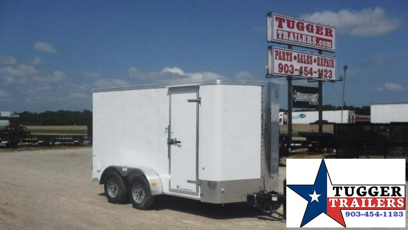 2017 Cargo Craft 6 x 12 Elite-V TA Enclosed Cargo Trailer