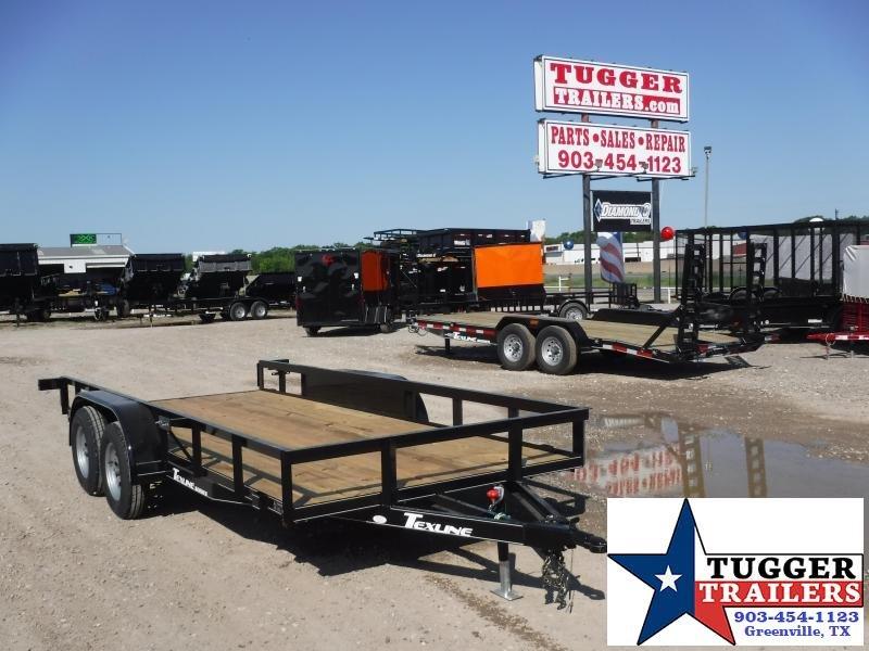 Texline Trailers 77 x 16 Patriot TA Equipment Trailer