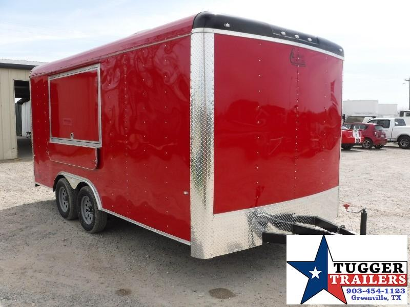 2018 Cargo Craft 8.5x16 Expedition Vending / Concession Trailer