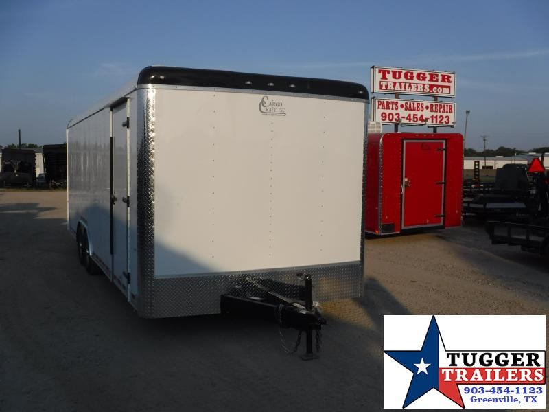 2019 Cargo Craft 8.5x24 24ft Auto Mobile Cargo Enclosed Car / Racing Trailer