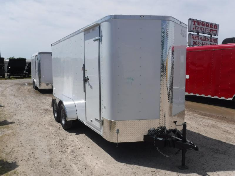2019 Cargo Craft 6x14 14ft Double Door EV Sport Enclosed Cargo Trailer