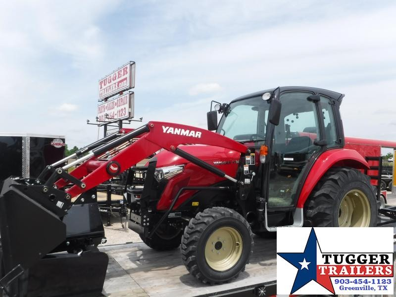 2018 Yanmar YT347 Cab Tractor and Loader!