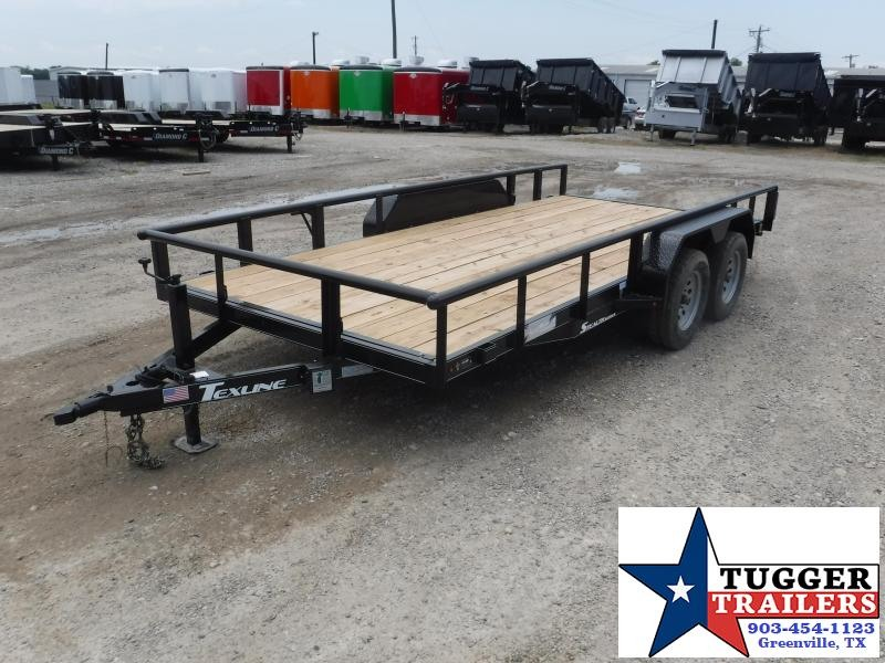 2018 TexLine 83 x 16 Stealth F-16 Equipment Trailer
