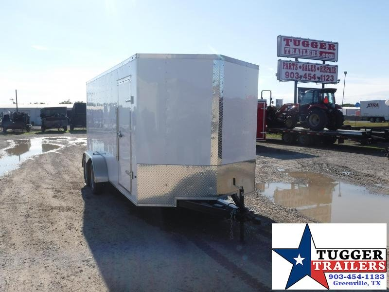 2019 T-Series 7 x 16 Enclosed Cargo Trailer