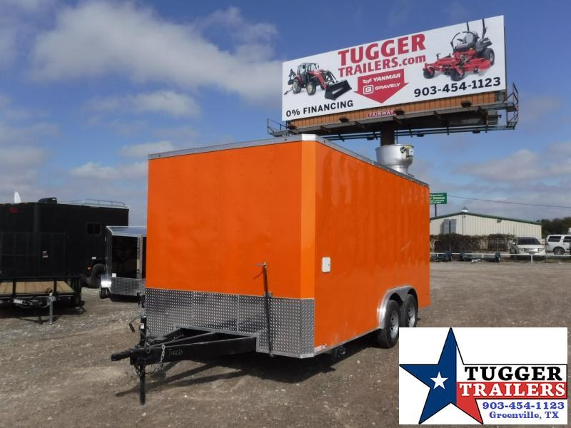 2017 Salvation Trailers 8.5x16  Vending / Concession Trailer