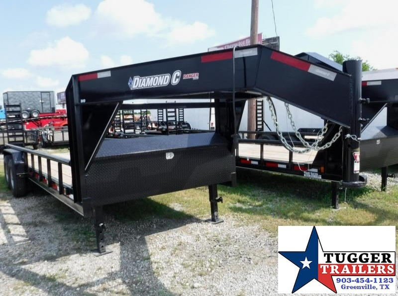 2017 Diamond C Trailers 82 x 20 RHD20 Gooseneck Equipment Trailer