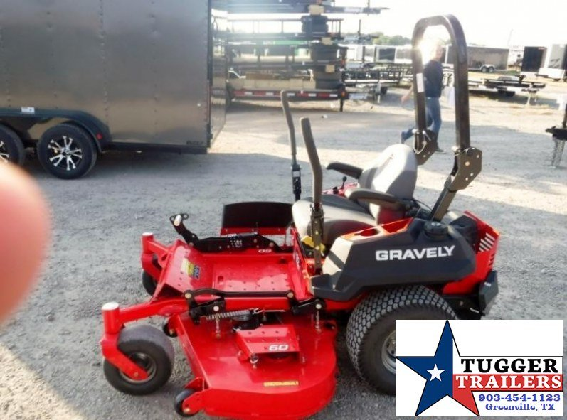 "2017 Gravely Pro-Turn  60"" 24HP V-Twin Kawasaki Zero Turn Lawn Mower  $148/mo WAC"