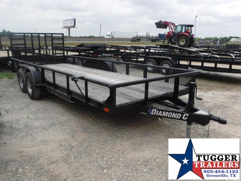2019 Diamond C Trailers 14TUT Equipment Trailer