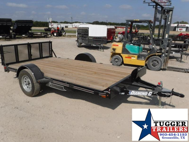 "2017 Diamond C Trailers 77"" x 12"