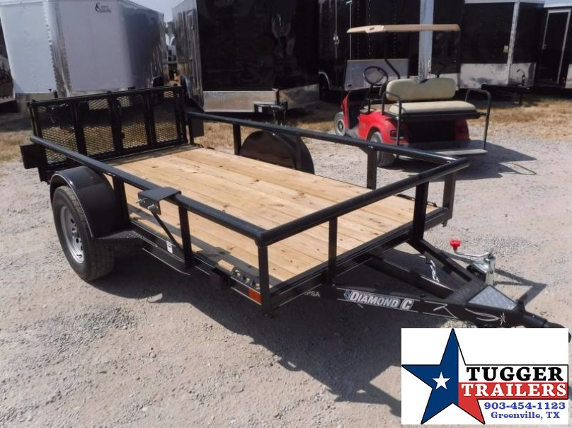 2017 Diamond C Trailers 60in x 10ft 2PSA Utility Trailer