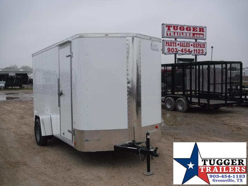 2019 Cargo Craft 6 X 12 12ft Enclosed Cargo Trailer