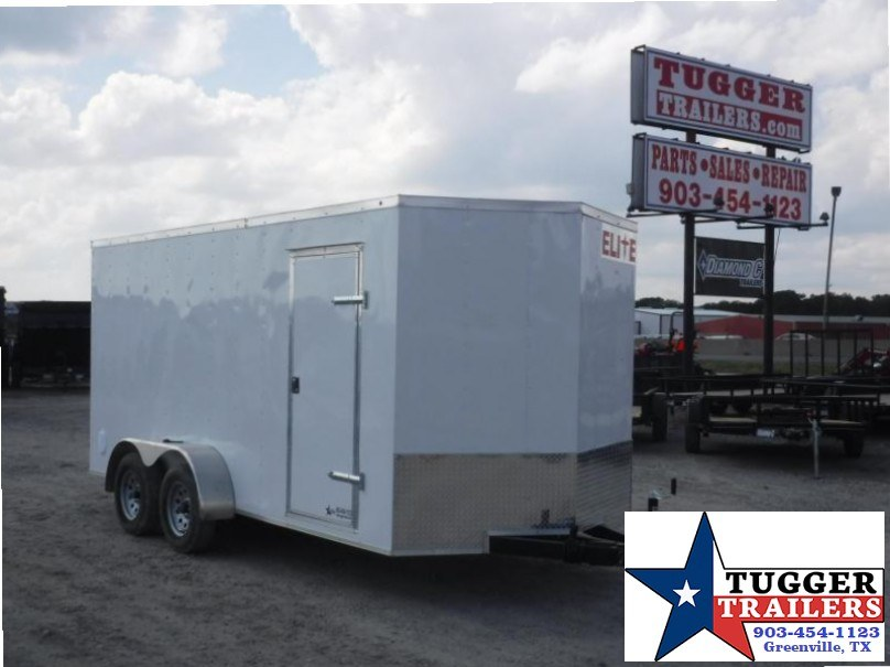 2017 Salvation Trailers 7 x 16 TA Elite Enclosed Cargo Trailer