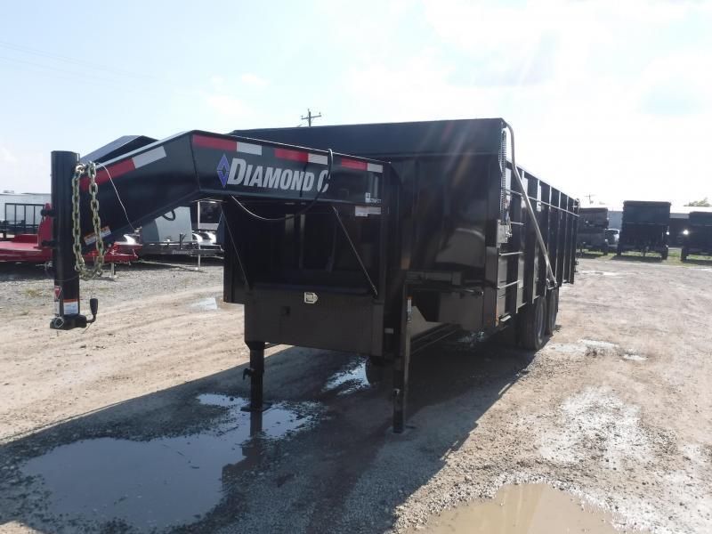 2019 Diamond C Trailers 23WFDT Goose Neck Dump Trailer