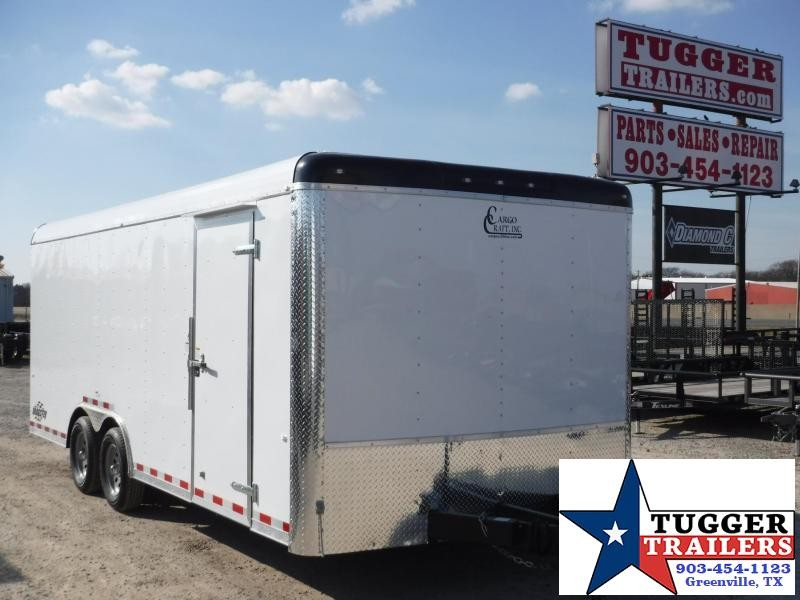2017 Cargo Craft 8.5 x 20 Dragster  Enclosed Cargo Trailer