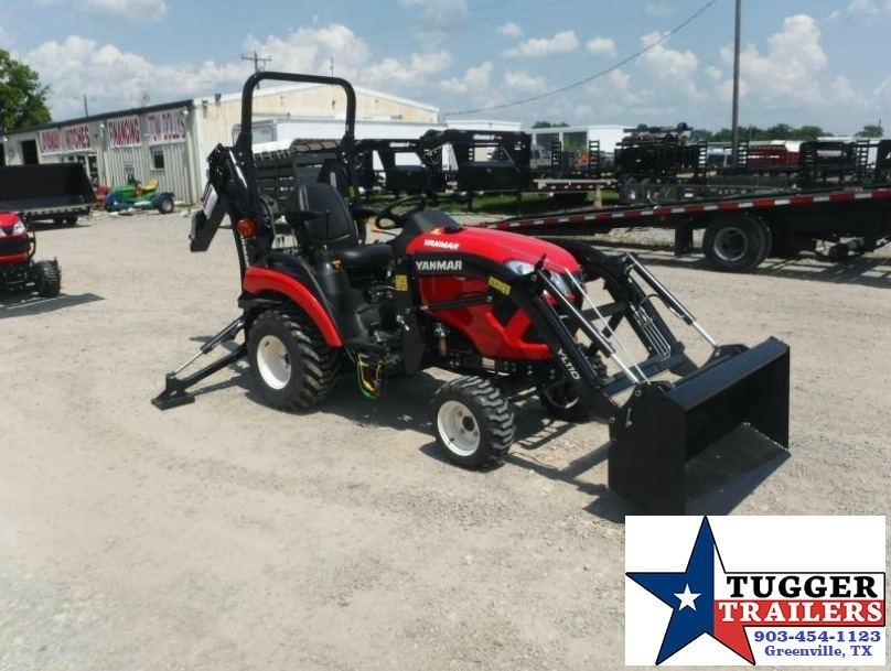 2017 Yanmar USA SA221 TLB  21HP Farm Tractor Loader Backhoe $259/mo WAC