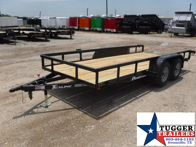 2018 TexLine 77 x 16 Patroit Equipment Trailer