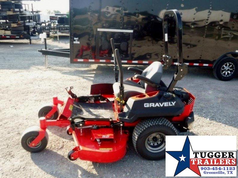 "2017 Gravely Pro-Turn  52"" 23HP V-Twin Kohler Zero Turn Lawn Mower  $125/mo WAC"