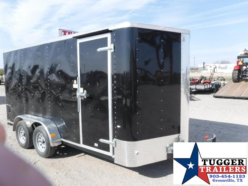 2017 Cargo Craft 7 x 14 Elite-V TA Enclosed Cargo Trailer