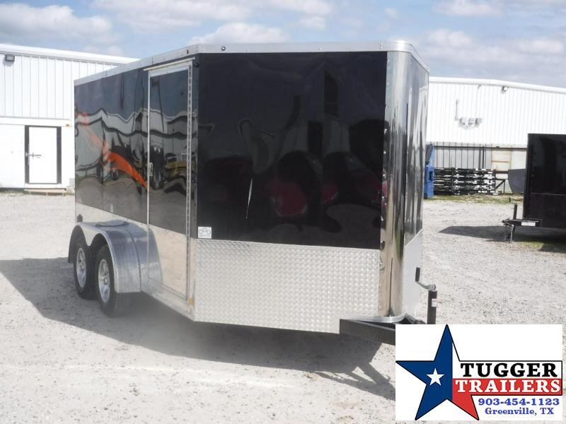 2018 Cargo Mate 7 x 12 Blazer Motorcycle Hauler Enclosed Cargo Trailer