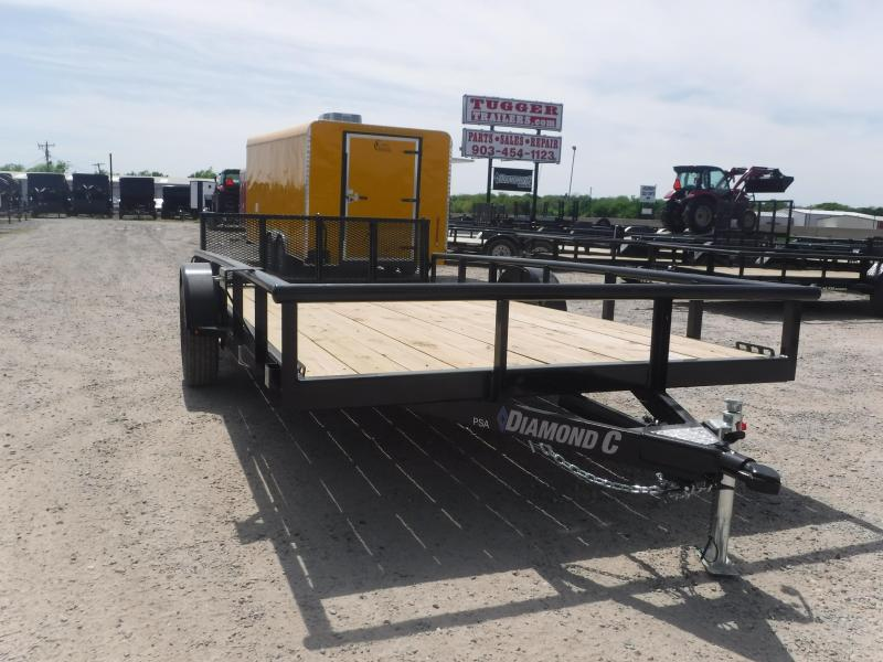 2019 Diamond C Trailers 83X14 14ft Black 2019 PSA135 Utility Trailer