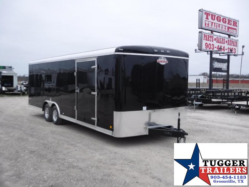 2018 Cargo Mate 8.5x24 Qualifier Enclosed Cargo Trailer