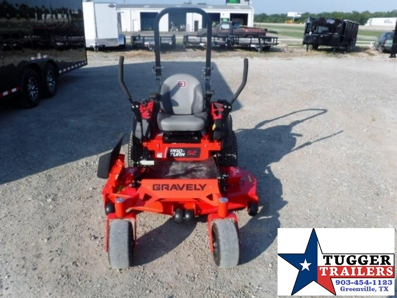 "2017 Gravely ZT HD 48"" 23HP Kawasaki V-Twin Zero Turn Lawn Mower $107/mo WAC"