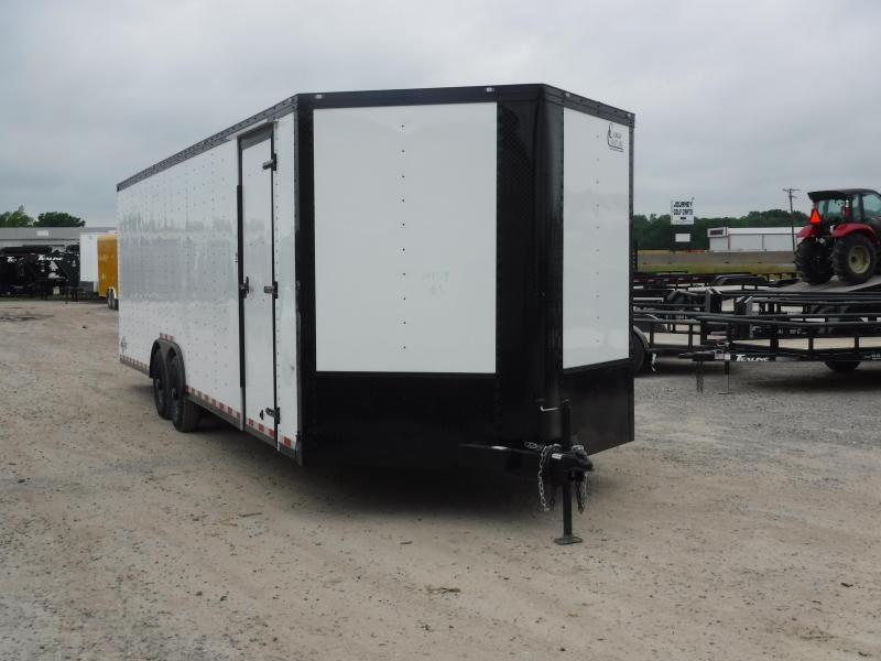2019 Cargo Craft 8.5x27 27ft Auto Hauler Blackout Car / Racing Trailer